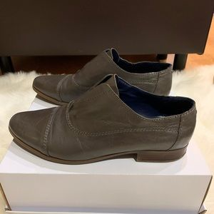 Tommy Hilfiger Leather Slip On Loafers Shoes